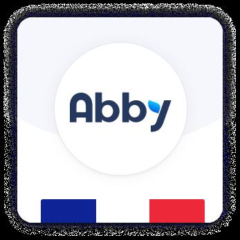 Ecusson Abby France