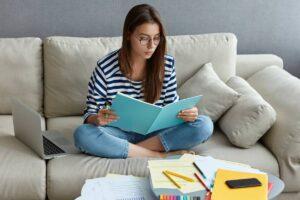 étudiant et auto-enrepreneur